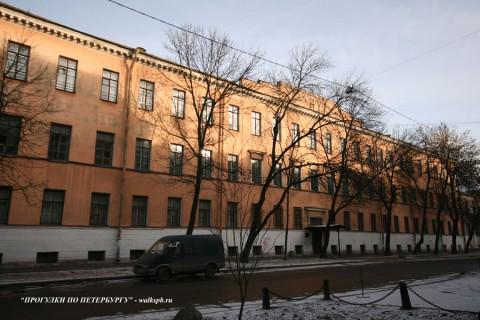 Патриотического института здание. 2008.02.16.