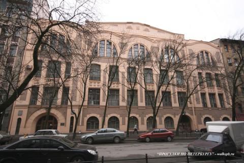Здание гимназии К. И. Мая. 20008.04.19.