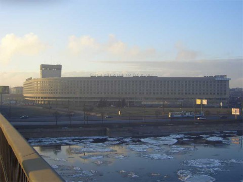 Гостиница «Москва». 2005.12.11.