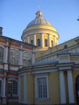 Свято-Троицкий собор Александро-Невской лавры. 2005.12.11.