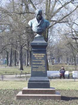 Бюст В. А. Жуковского. 2007.04.15.