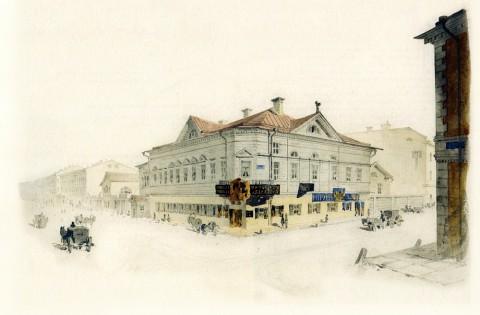 Баганц Ф. Ф., Дом Путятина (на углу Надеждинской и Итальянской). 1860-1862 годы.