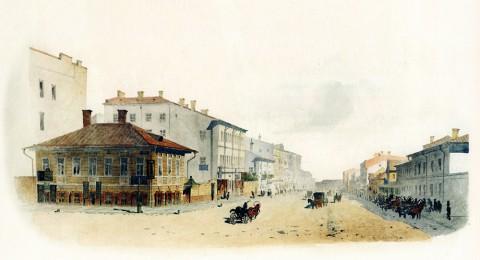 Баганц Ф. Ф., Надеждинская улица. 1858-1860 годы.