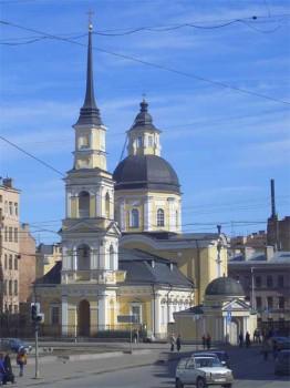 Церковь святых Симеона и Анны. 2006.04.09.