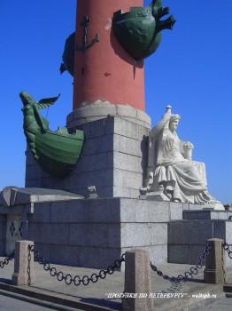 Ростральная колонна. 2007.08.12.