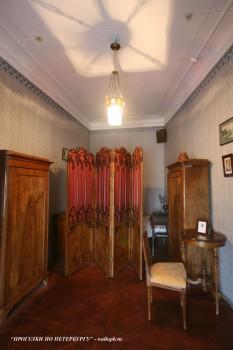 Спальня в квартире А. А. Блока. 2008.04.06.