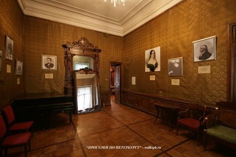 Комната в особняке Гагариной. 2010.06.10.