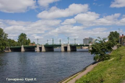 Гончаренко Ю.К., Большой Крестовский мост.