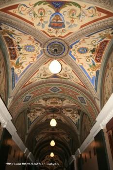 Плафон коридора в особняке А. Ф. Кельха. 2008.11.04.
