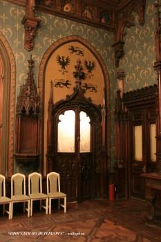 Фрагмент Готической столовой в особняке А. Ф. Кельха. 2008.11.04.
