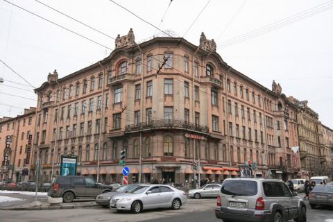 ул. Чайковского, 40 / пр. Чернышевского, 12. 2009.03.12.