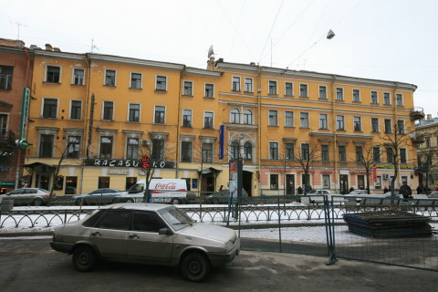пр. Чернышевского, 11. 2009.03.12.