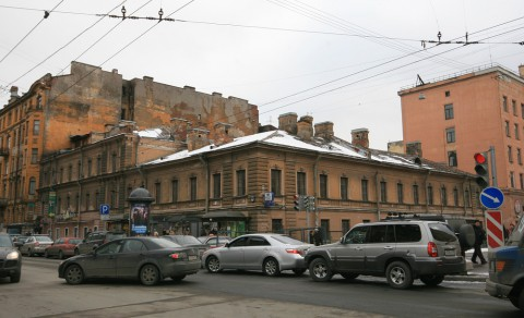 пр. Чернышевского, 14. 2009.03.12.