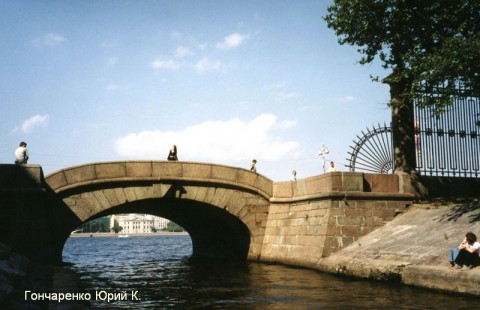 Гончаренко Ю.К., Верхне-Лебяжий мост.