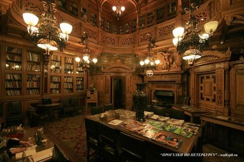 Библиотека во дворце вел. кн. Владимира Александровича. 2009.04.11.