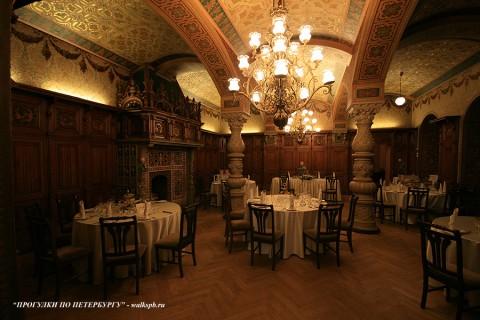 Ресторан во дворце вел. кн. Владимира Александровича. 2009.04.11.