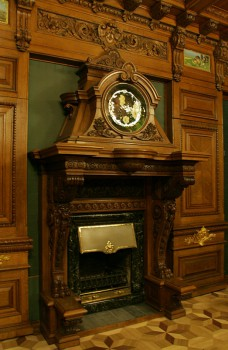 Чернега А.В., Камин кабинета дома Г. П. Елисеева. 2011.11.19.