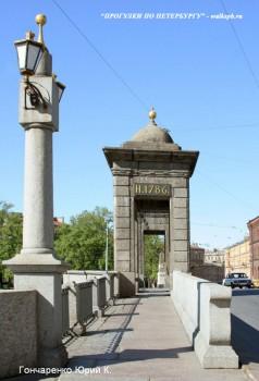 Гончаренко Ю.К., Старо-Калинкин мост.