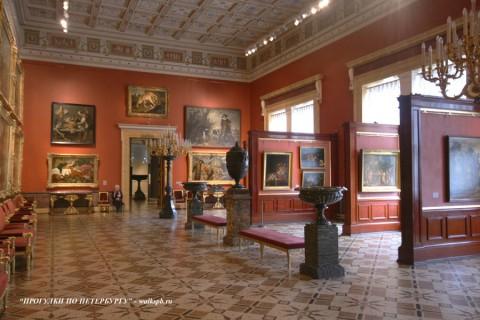 Чернега А.В., Зал Снейдерса (Зал Фламандской живописи). 2008.02.21.