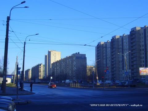 Ириновский проспект.