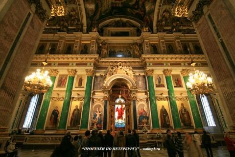 Иконостас Исаакиевского собора. 2009.04.12.