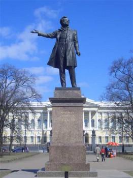 Памятник А. С. Пушкину. 2006.04.23.