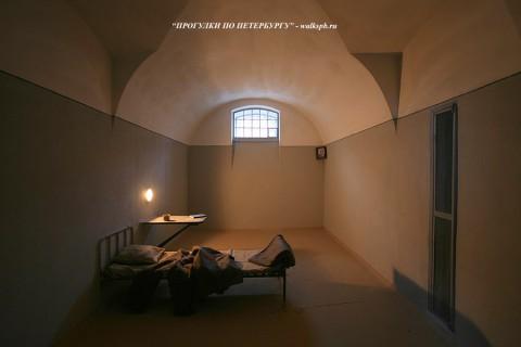 Камера тюрьмы Трубецкого бастиона. 2008.12.22.