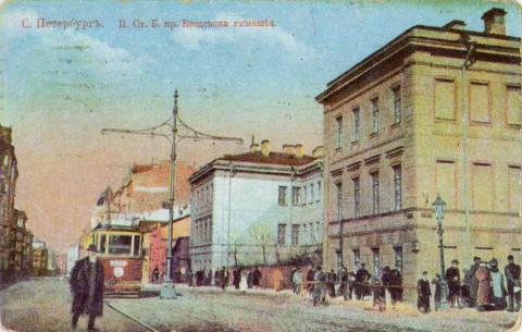 Большой проспект у улицы Шамшева.