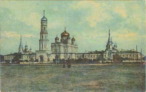 Новодевичий монастырь на Забалканском проспекте.