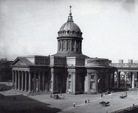 Неизвестный фотограф, Казанский собор. 1911.