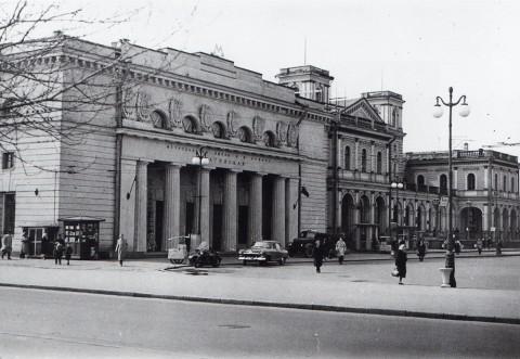 Неизвестный фотограф, Станция метро «Балтийская». Май 1962 года.
