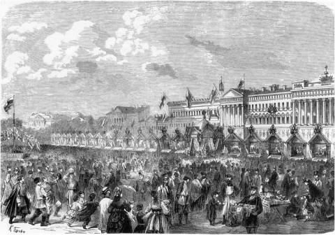 Брож К., 30 мая 1872 года на Царицыном лугу.