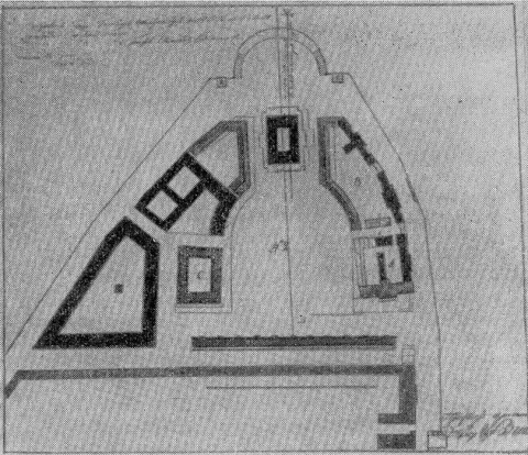 Захаров А. Д., Генеральный план застройки Стрелки. 1804.