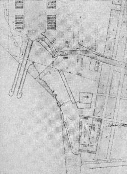 Генеральный план Главного гребного порта.