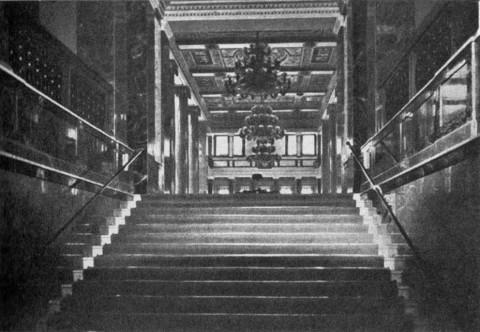 Русский торгово-промышленный банк. Парадная лестница. 1910-е гг..
