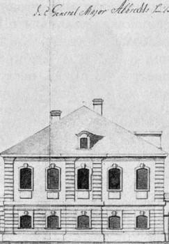 Дом Я. Албрехта. 1740-е гг..