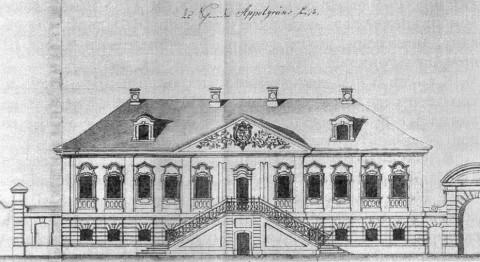 Дом А. Апельгрена. 1740-е гг..