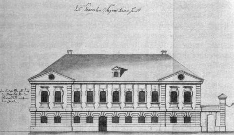 Дом А. Г. Загряжского. 1740-е гг..