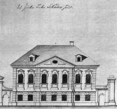 Дом Д. П. Шредера. 1740-е гг..