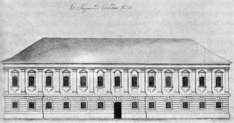 Дом комедии Я. Х. Зигмунда. 1740-е гг..