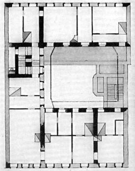 Проект перестройки дома А. А. Дурдина после пожара 1862 г..