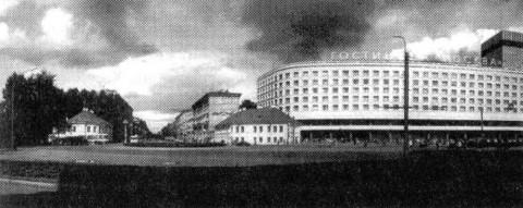 Площадь Александра Невского в 1980-х гг.. 1980-е.