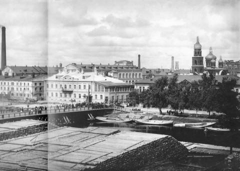 Булла К. К., Вид на Ждановскую набережную. 1916.
