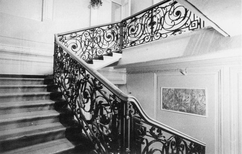 Парадная лестница дома Черткова.