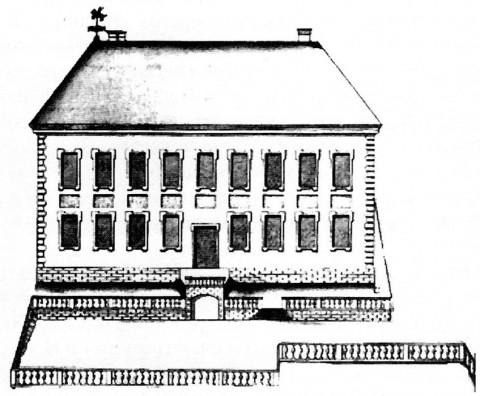 Летний дворец Петра I в Летнем саду.