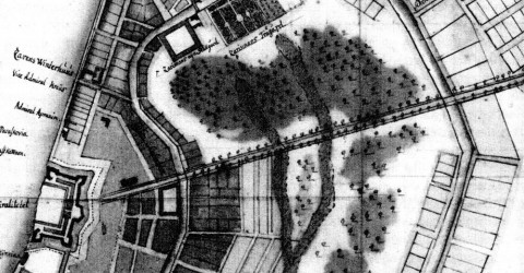 План Невской перспективы. 1722.