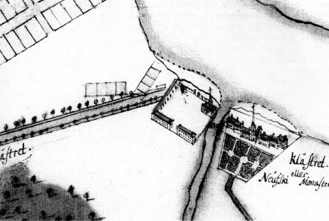 Александро-Невский монастырь. 1722.