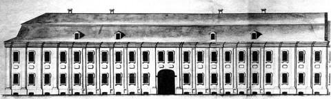 Служебный корпус Зимнего дворца.
