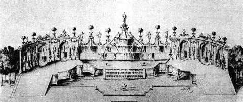 Амфитеатр в Первом Летнем саду.