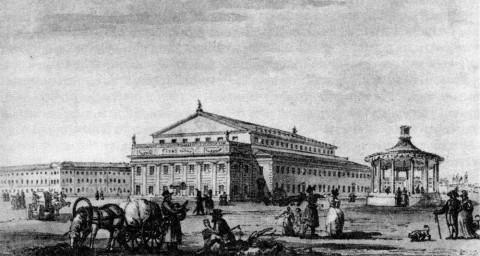 Кваренги Дж., Большой театр.